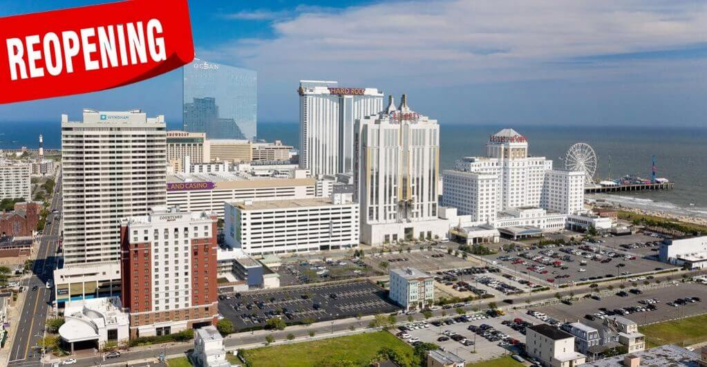 Atlantic City's Casinos Get a New Lease on Life:  Just One Step Away