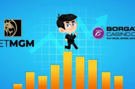 BetMGM and Borgata Soar to the Top of the NJ Online Casino Revenue Peak
