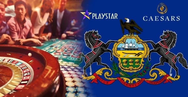 Caesars Deal in Pennsylvania Marks Playstar Casino's Entry Into New Jersey